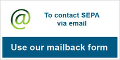 Email SEPA via our mailback form
