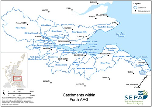 Forth Aag Catchments