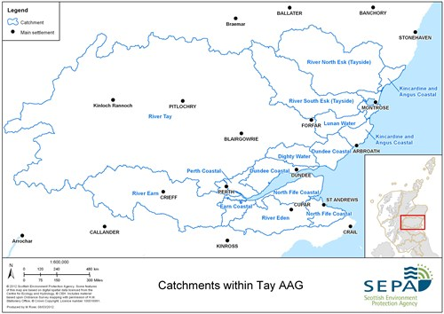 Tay Aag Catchments