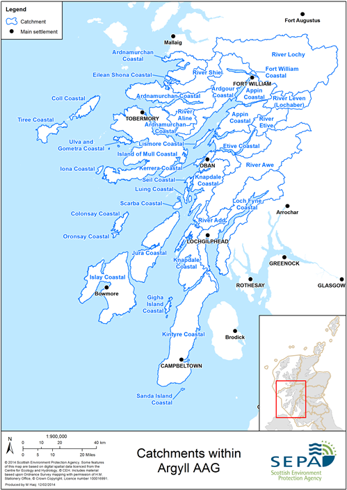 Argyll AAG Catchments