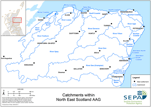 North East Scotland Aag Catchments