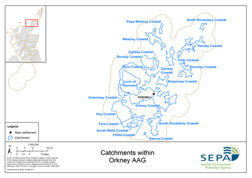 Orkney Aag Catchments