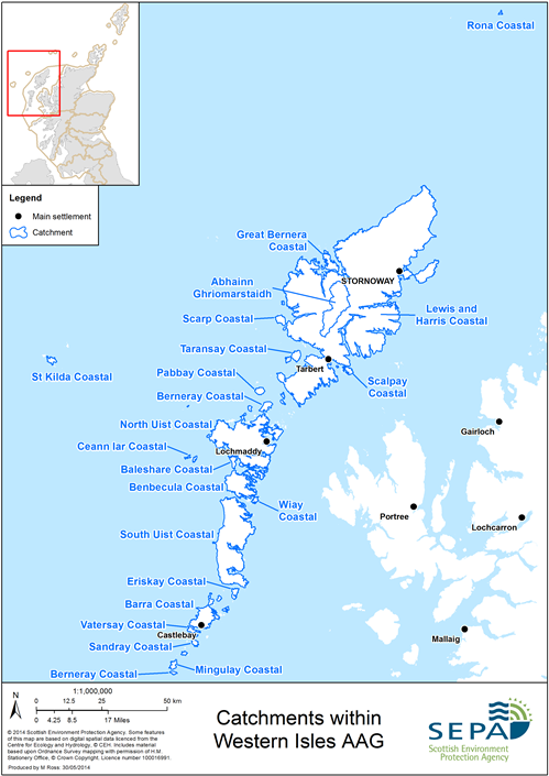 Western Isles Aag Catchments